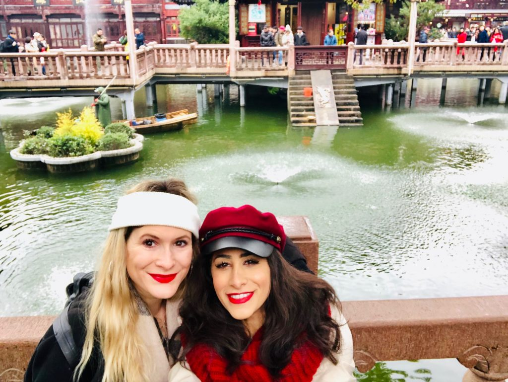 Visiting Shanghai's Yu Garden with Arielle Abroad