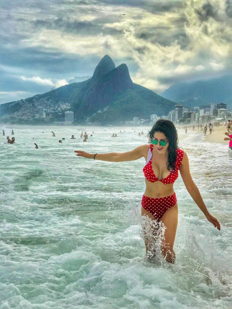 copacabana beach, rio de janiero