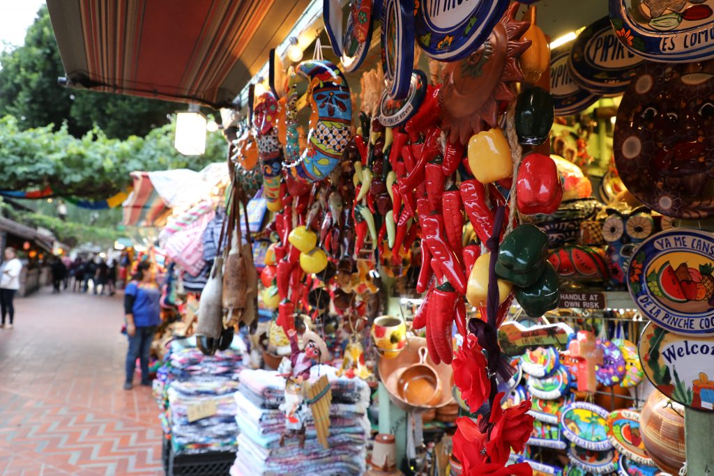 Olvera Street - Downtown Los Angeles